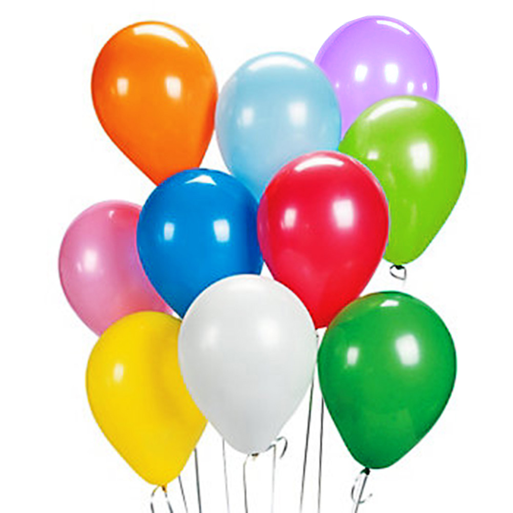 "12"" Birthday Wedding Party Decor Latex Helium Quality ..."