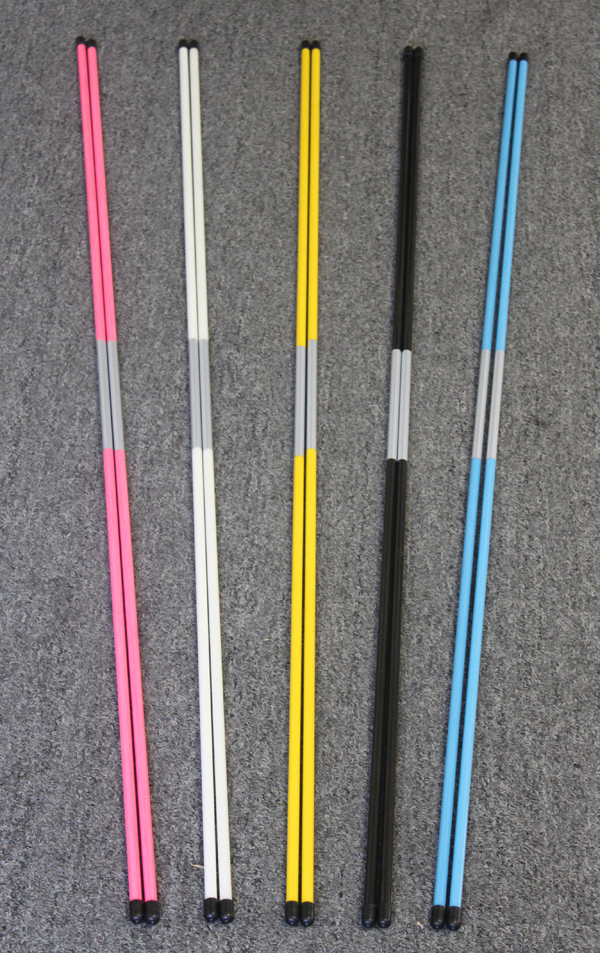 Details about PINK - Practice Rods Trainer Aids Golf Alignment Sticks Swing  PlaneTraining Aid