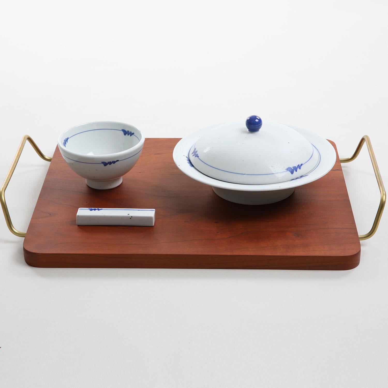 Gyudamyo Handmade Ceramic Bowl W Lid Set Brunch Serving Set Service